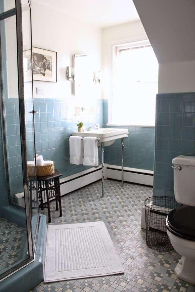 16 Top Old Blue Tile Bathroom Photos In 2020 Blue Bathroom Tile Black Tile Bathrooms Blue Bathroom Decor