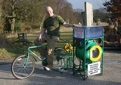 1. Cyclean Bike-Powered Washing Machine    CYCLEAN BIKE-POWERED WASHING MACHINE