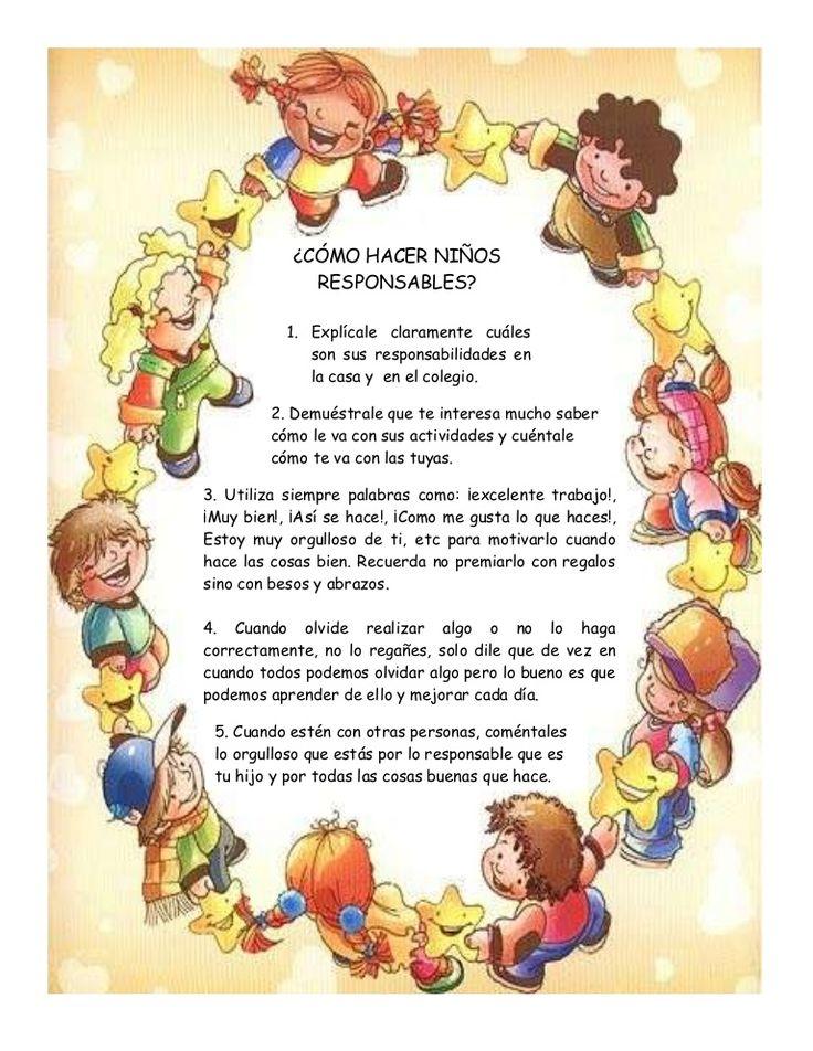 Actividad responsabilidad para padres by valores2013 via slideshare