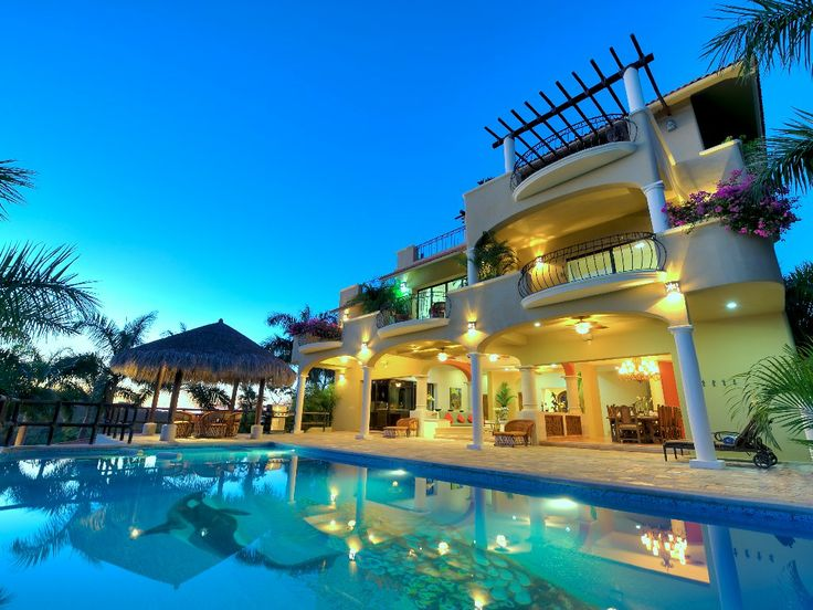 Huatulco Accom Oceanfront Villas With Secluded Beach Las