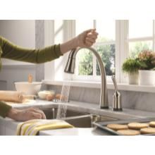 Parent Tested, Parent Approved Products Delta Pilar Kitchen Faucet with Touch2O Technology