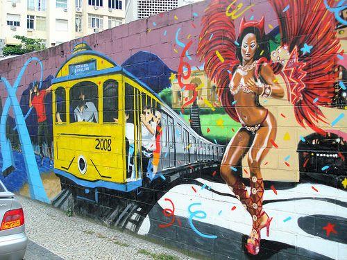 Tito na rua Grafite arte Grafite Graffiti Rio de Janeiro em Copacabana