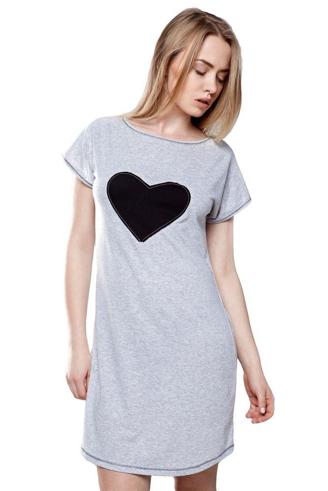 Felisa dámská noční košile se srdcem #nightdress with #heart