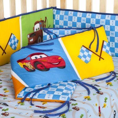 Disney Cars Junior Junction Crib Bumper