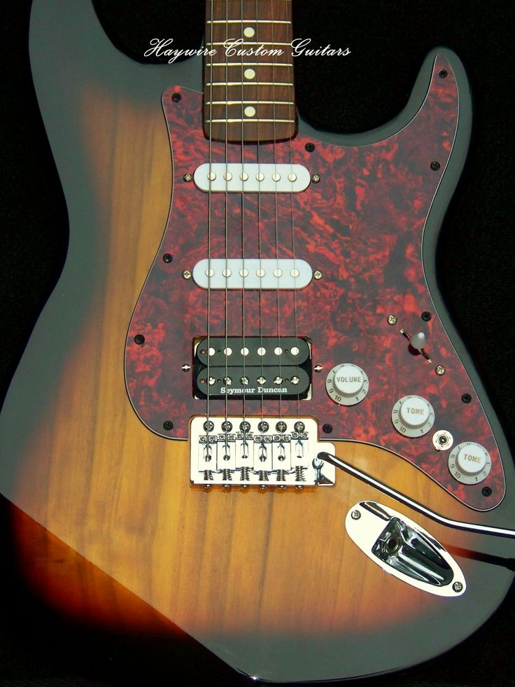 USA Haywire Custom Shop Stratocaster Upgraded with Haywire ...