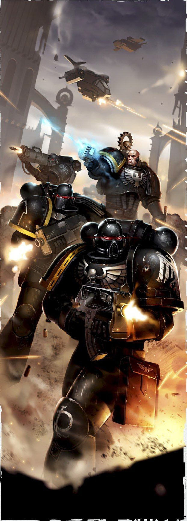 Warhammer 40000,warhammer40000, warhammer40k, warhammer 40k, ваха, сорокотысячник,Wh Песочница,фэндомы,Imperium,Империум,Space Marine,Adeptus Astartes,Raven Guard,Imperial Knight,House Terryn,Knight Paladin,Freeblades,Obsidian Knight,Kayvaan Shrike,Tau Empire,Tau, Тау,XV104 Riptide