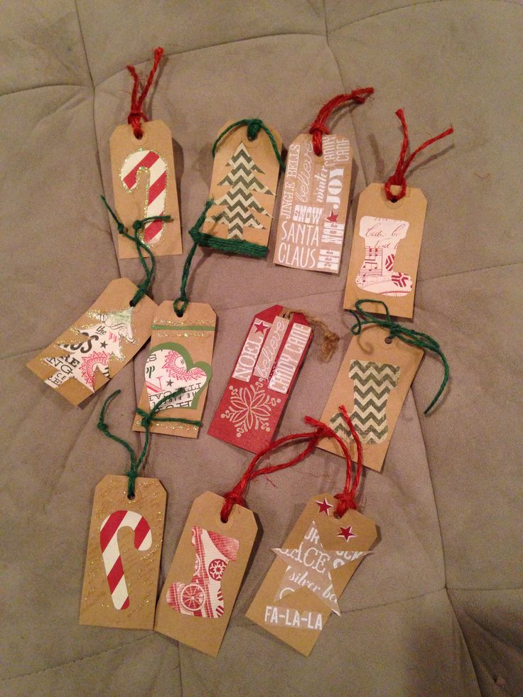 Homemade Gift Tags | Papercrafts | Pinterest