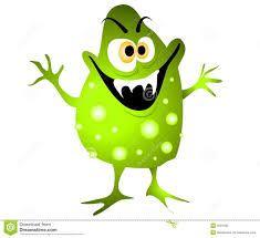 evil bacteria cartoon - Google Search