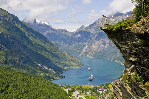 Top 5 places to visit before you die ~ Fascinating Places To Travel: Norwegian Fjord, Norway Fjord, Favorite Places, Fjord Norway, Fjorden Met, Beautiful Places, Beautiful Country, Places I D, Geirang Fjord