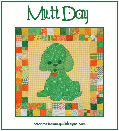 National Mutt Day Doggie hugs all around! ❤️  #quilting #NationalMuttDay #MyNationalDayQuiltChallenge