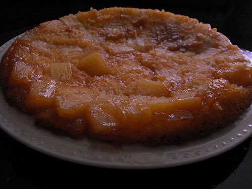 Pineapple upside down cake made with bisquick.  I made mine into muffins, and they were effing amazing!