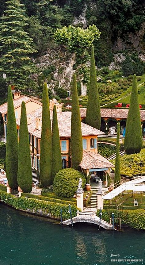 Villa La Cassinella, Lake Como ( belongs to Sir Richard Branson)