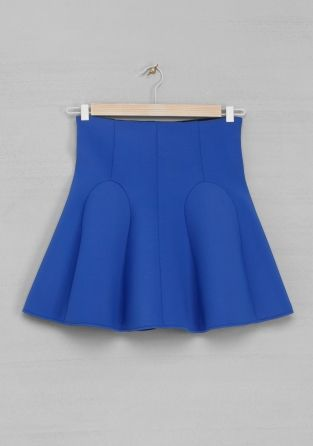 Scuba skirt | Indigo | & Other Stories