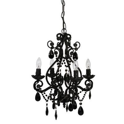 You'll love the Caden 4 Light Crystal Chandelier at Wayfair - Great Deals on all Lighting  products with Free Shipping on most stuff, even the big stuff.