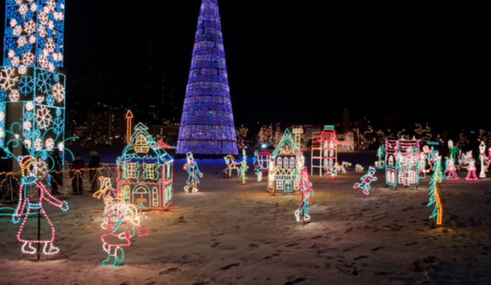 12 Christmas Light Displays In Minnesota That Are Pure Magic