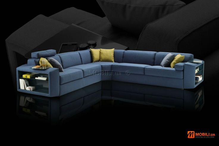 Угловой диван кровать с ортопедическим матрасом Италия MOBILI DIVANI (17)