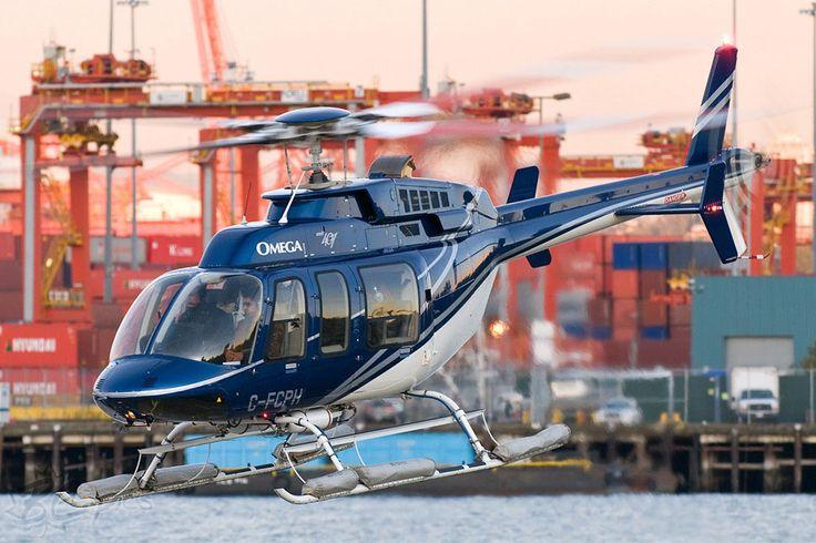 Hélicoptère Bell 407 C-FCPH de Omega Aviation (Canada)