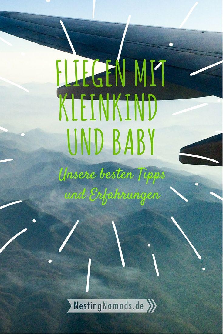 Fliegen mit Kleinkind und Baby - unsere besten Tipps