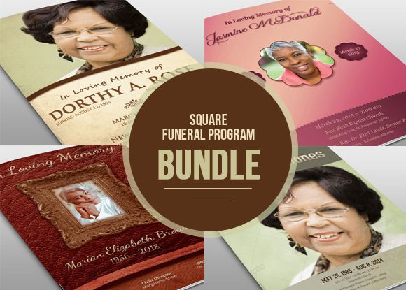 104 best Funeral Program Templates images on Pinterest Templates - funeral brochure template