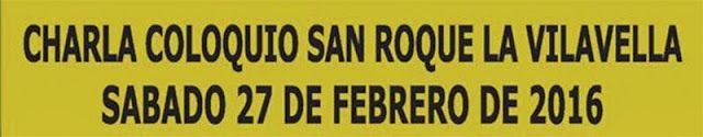 torodigital: Charla coloquio San Roque La Vilavella el sábado ...