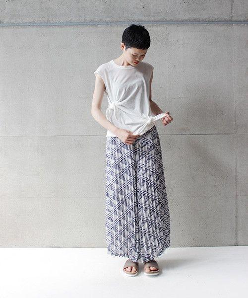 AMBIDEX Store ○ ディマリアシングル ジャージー 二つ結び プルオーバー(F ホワイト): note et silence.
