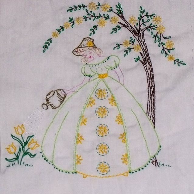 Best images about embroidery nursery rhymes on