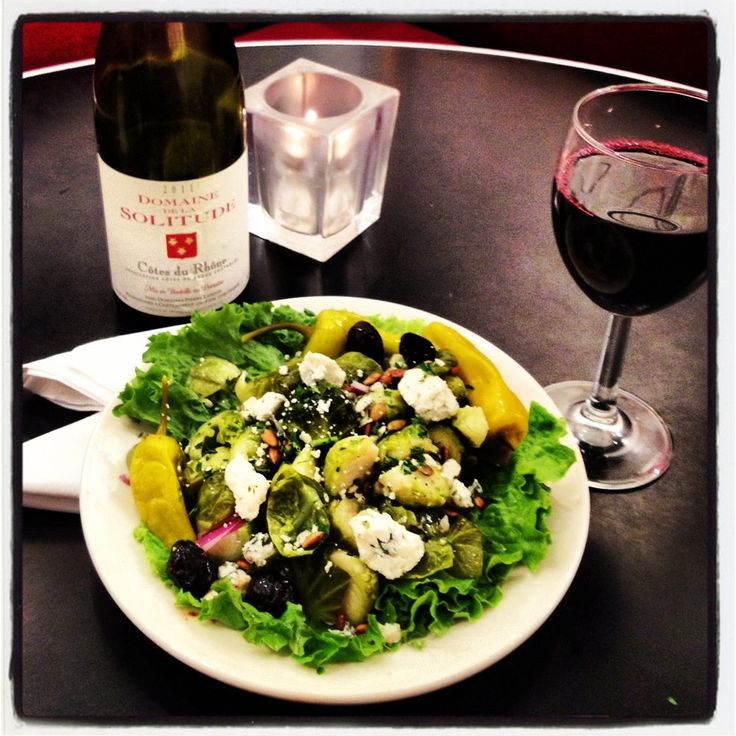 Brussels Sprouts and Blue Cheese Salad | Yelp