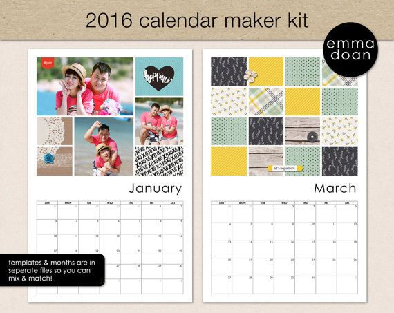 Blank Calendar Kit : Best calendar templates images on pinterest