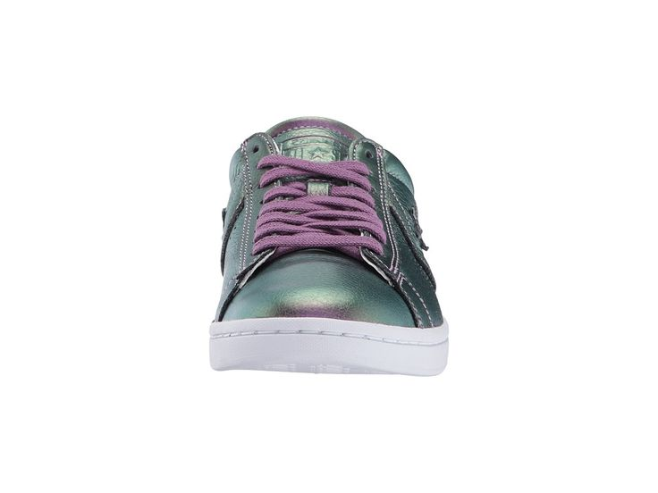 4b22f3df4e5 Converse Pro Leather LP Iridescent Leather Ox Women s Classic Shoes Viola  Fantasy White White