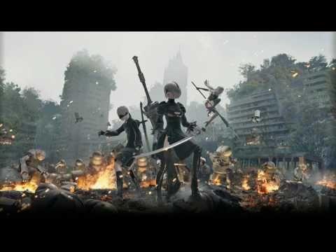 NieR Automata OST BGM 「BATTLE」 - YouTube
