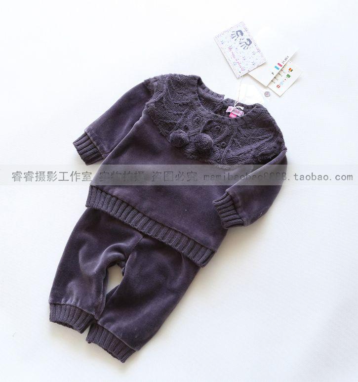 Внешняя торговля оригинальный одного малого новорожденных и детской одежды специальной европейской и американской моды Leisure Suit женский костюм младенца - Taobao