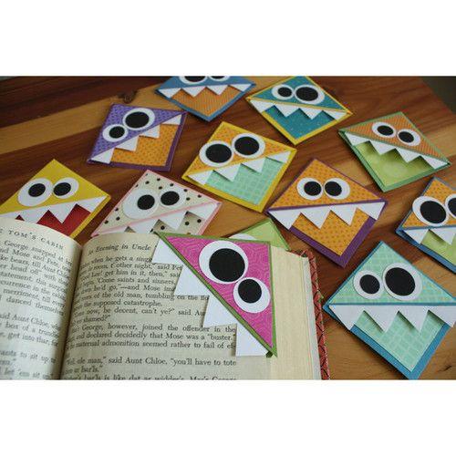 DIY:Monster Bookmarks