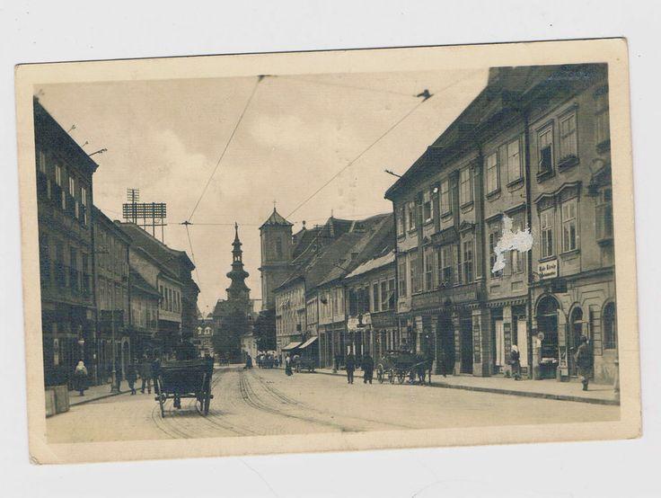 Preßburg/Poszony, Erzherzog Friedrich Straße, 1918