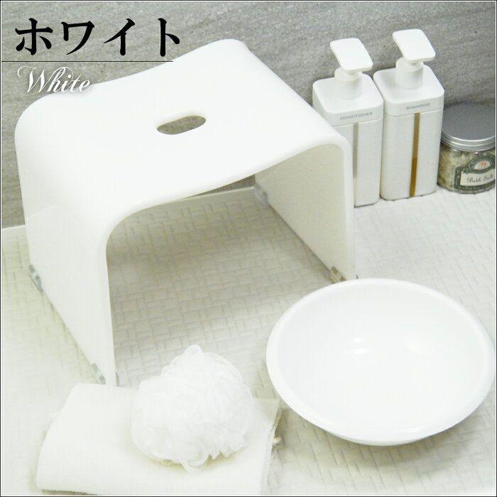 楽天市場 アクリル バスチェア ボウルセット お風呂 椅子 風呂