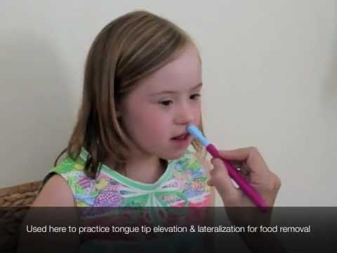 Practice tongue tip elevation and lateralization with the for Oral motor exercises for adults