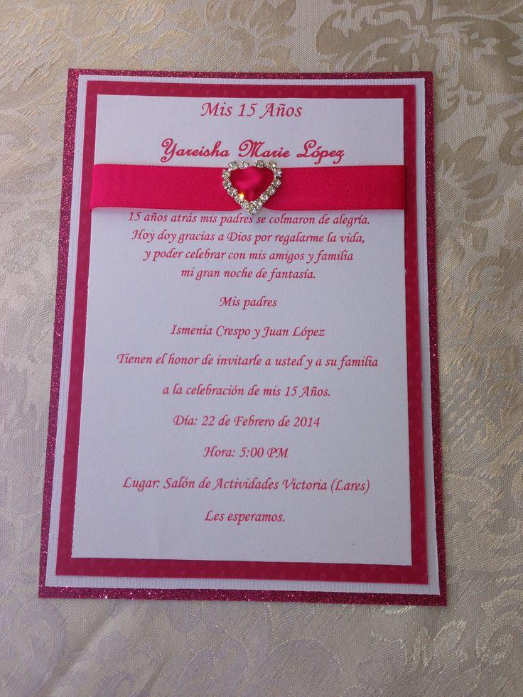 Homemade Wedding Invitation as good invitation example