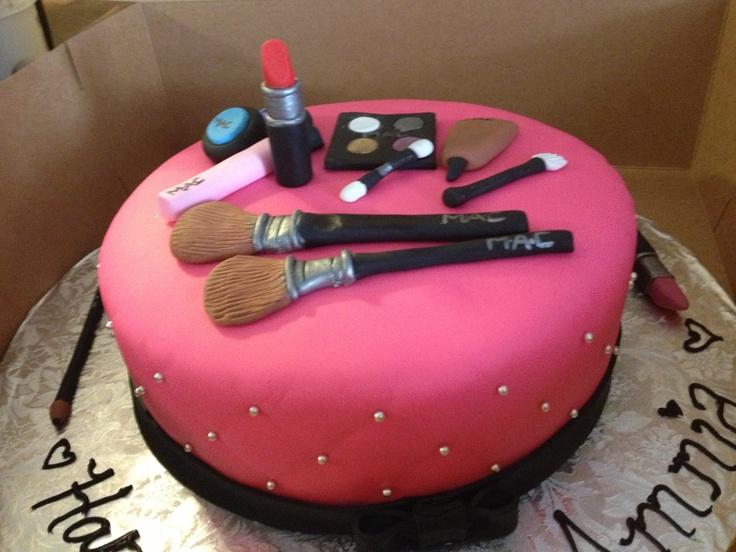 Makeup Cake Decorations : MAC Makeup Cake. Cakes Pinterest Mac makeup, Makeup ...
