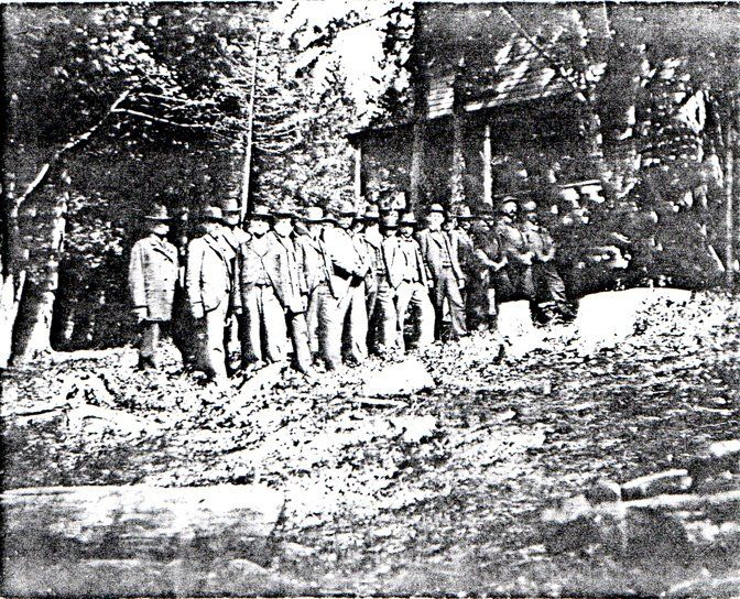 company b 20th maine infantry reunion joshua chamberlain
