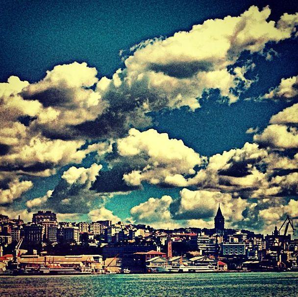 #istanbul #cloud #galatatower #hdr