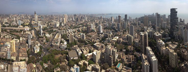 Architecture BRIO - Panorama Skyline of South Mumbai