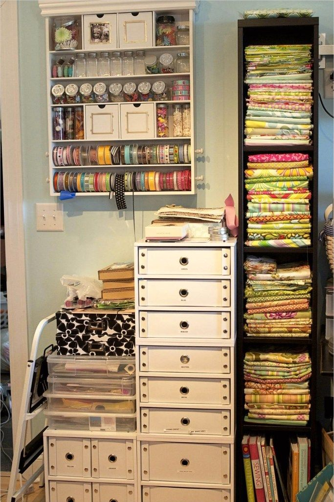 ikea scrapbook room for storage 38 huis craft room storage rh pinterest com