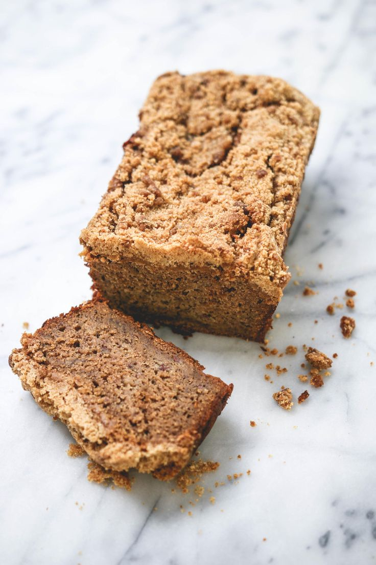 Banana Bread with Crumble Topping