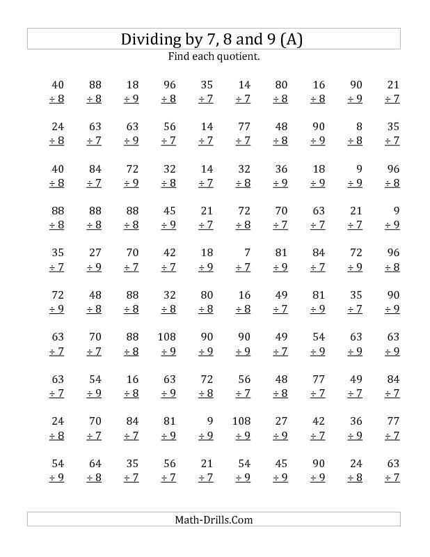 Math Multiplication Worksheets 5th Grade aprita – Division Worksheets for 5th Grade