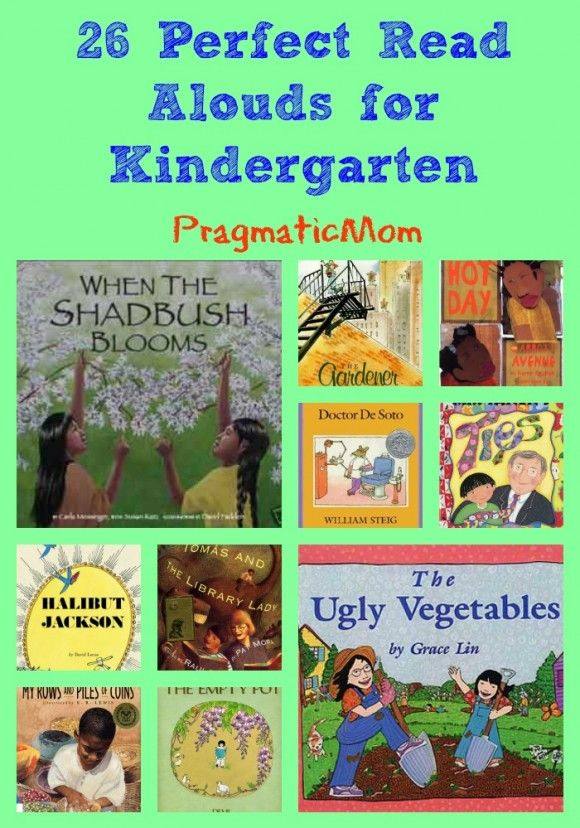 26 Perfect Read Alouds for Kindergarten :: PragmaticMom #picturebooks