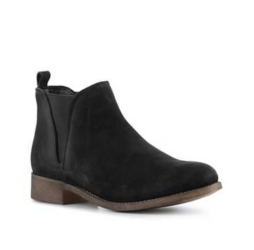 Ankle Boots & Booties Boots Women's Shoes Black flat Low Heel Flat | DSW.com