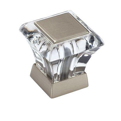"1"" Square Knob - BP29460CG10 | Knob | Decorative Hardware | Amerock.com"