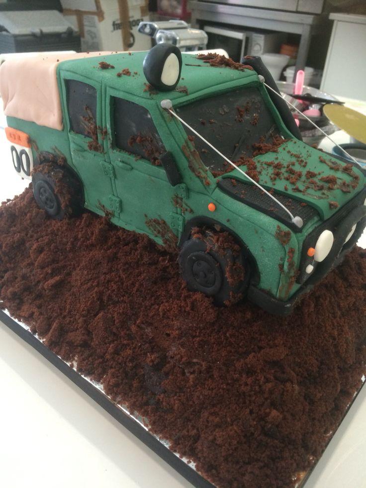 Defender Cake