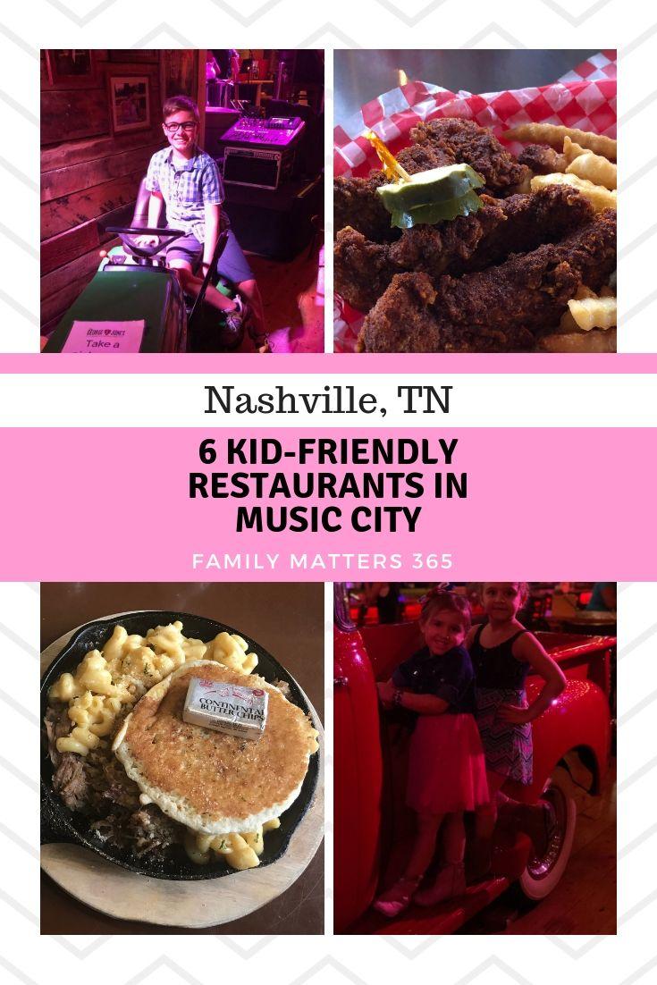 6 Kid Friendly Restaurants In Nashville