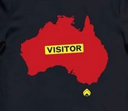 Burn Clothing - Melburn Visitor T