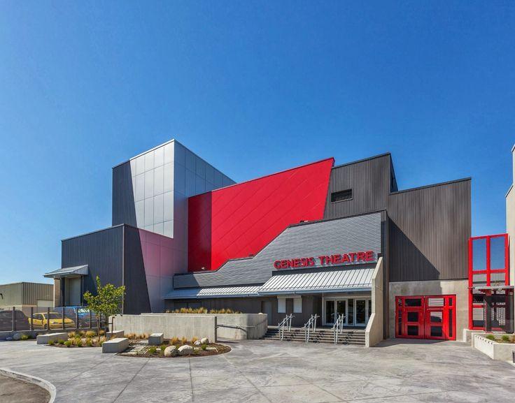 AL13 Panel System. Delta Secondary School Genesis Theatre.